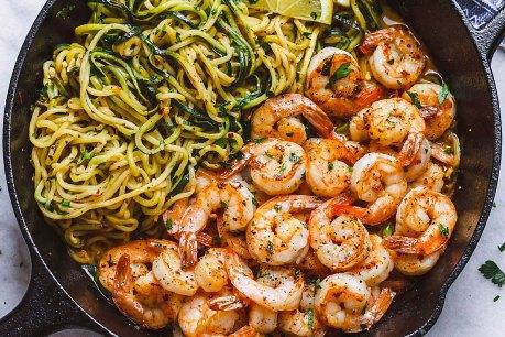 Shrimp-Zucchini-Noodles